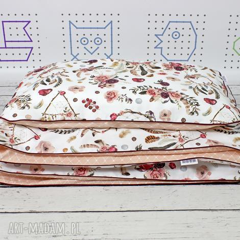 poszewka na pościel dla dziewczynki m (135 x 100) łapacze snów