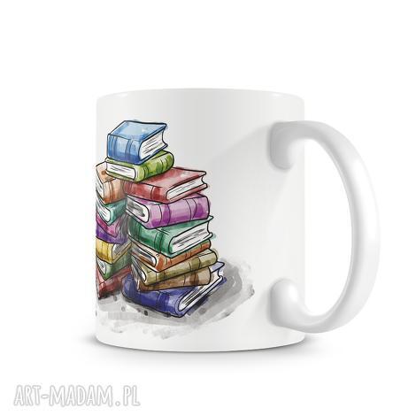 świąteczny prezent, kubki kubek - książki, kubek, herbata