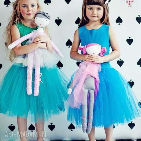 lalki landrynka, szmacianka, balet, tutu, balerina, tiul, taniec dla dziecka