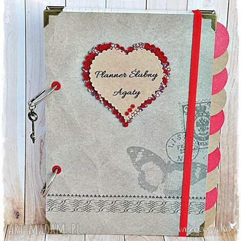 planer ślubny - 10 przekładek, planner, ślubny, planer, ślub, prezent, narzyczona