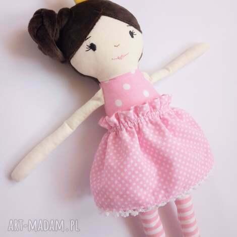 lalki lalka królewna, szmaciana, królewna, korona