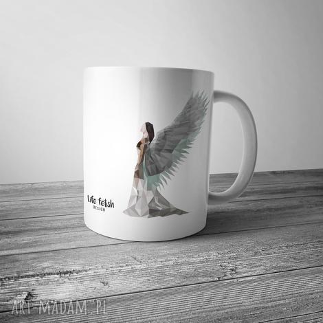 kubek z aniołem, kubek, anioł, aniołek, święta, prezent, kuchnia