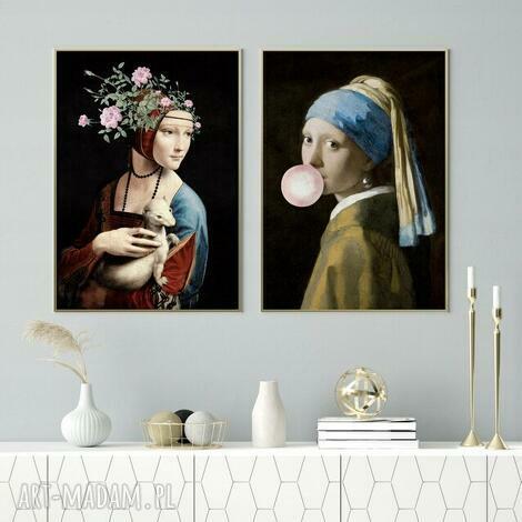zestaw 2 plakatów #23 b1 - 70x100 cm, plakaty, obraz, mieszaknie