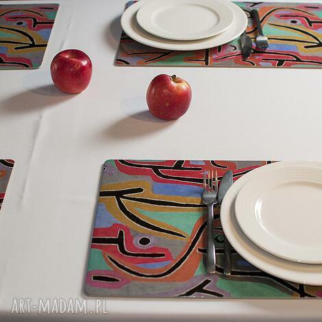 duże podkładki na stół - paul klee, dom, stół, dekoracja, prezent, sztuka