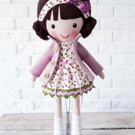 malowana lala luiza, lalka na prezent, przytulanka pod choinkę, dziecko prezent