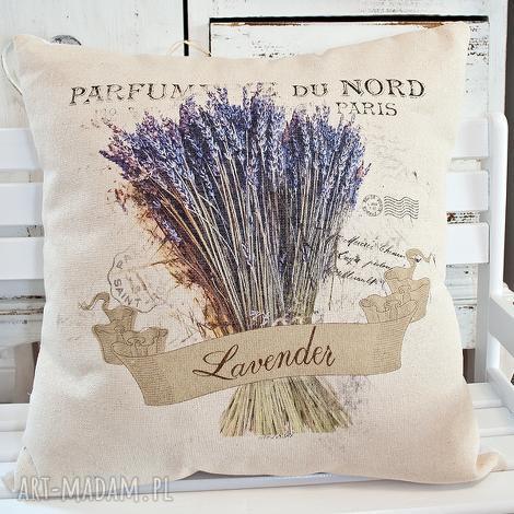 poduszka dekoracyjna z motywem lawendy,, lawenda iv, lawenda, lawendula
