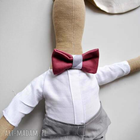 pan królik - przytulanka, nietuzinkowa, inny, prezent, chłopca, urodziny