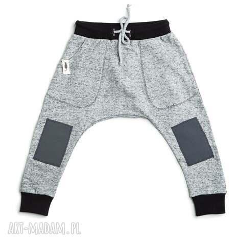 baggy gray - baggy, spodnie, łaty, dziecko, wiosna, haremki