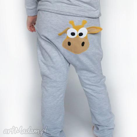 ubranka baggy żyrafa, żyrafa dla dziecka