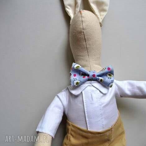 maskotki pan królik prezent na chrzest, prezent, nietuzinkowy, dziecka, dla, chrzest
