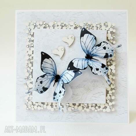 z motylami - życzenia, rocznica, ślub, gratulacje
