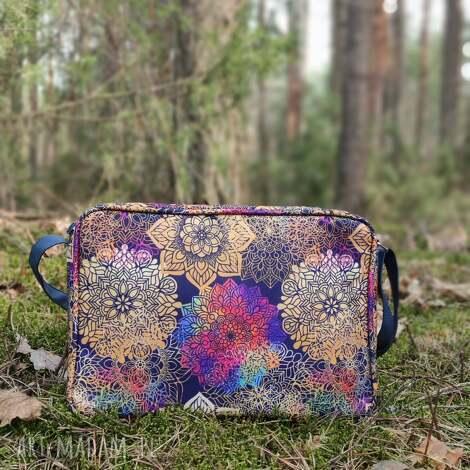 single bag - tęczowe mandale, tęczowe, kolorowe, prezent, święta