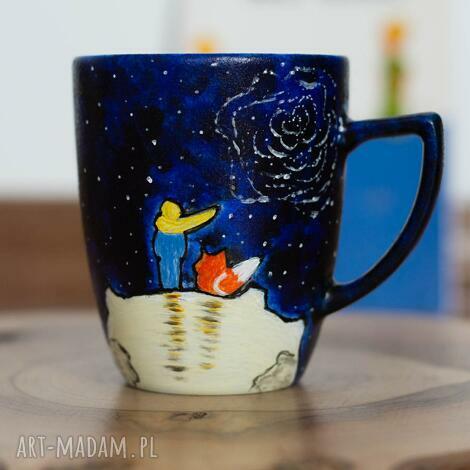 kubek do kawy mały książę lis i róża, książę, dla miłośnika