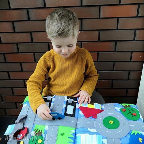 książeczka sensoryczna quiet book dla chłopca od 3 lat, ksiązeczka, silent