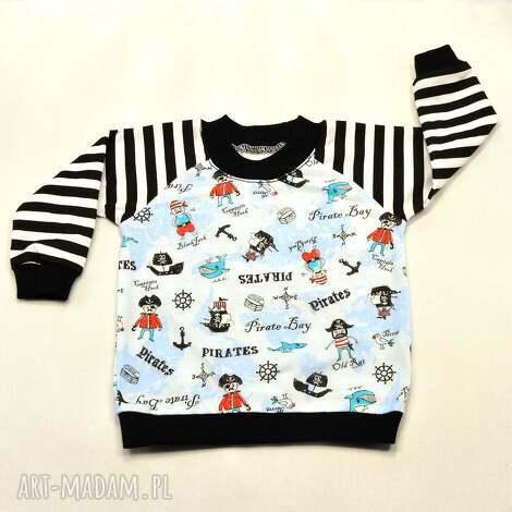piraci marynarze bawełniana bluzka dla chłopca, dziewczynki, rozmiary 68-122