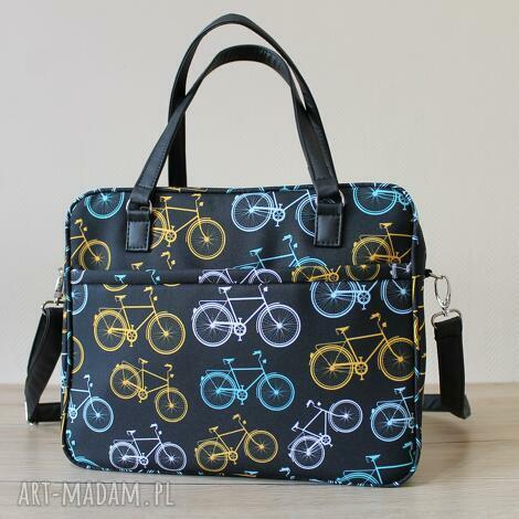 na ramię torba miejska - rowery retro, rowery, pakowna, nowoczesna