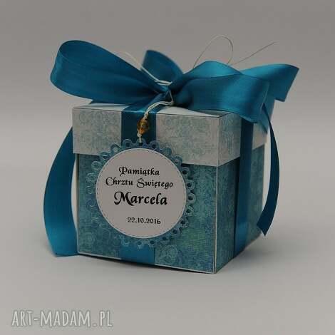 kartka pudeŁko box chrzest lub urodziny - kartka