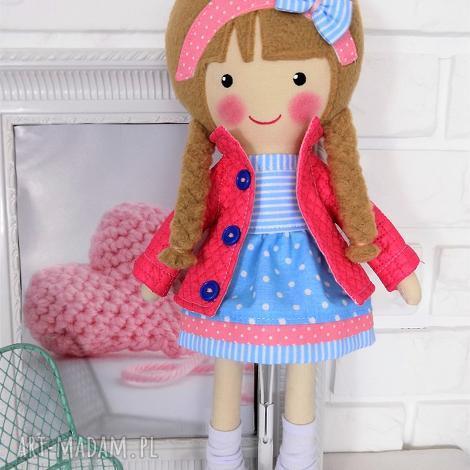 lalki malowana lala alicja, lalka, zabawka, przytulanka, prezent, niespodzianka
