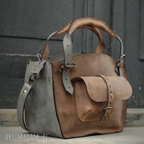 torebka torba kuferek ręcznie robiony skórzany ladybuq oryginalny pojemna