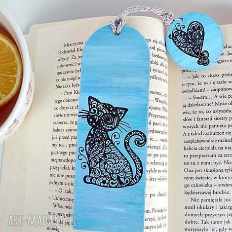 zaczarowany kot zakładka do książki w kolekcji bcherwurm, kot