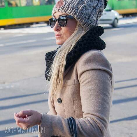 business instinct wielbłąd, jesień, zima, czapka, włóczka