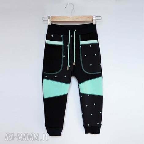 ubranka only one no 003 - spodnie dziecięce 116 cm, dres, eco, recykling, bawełna