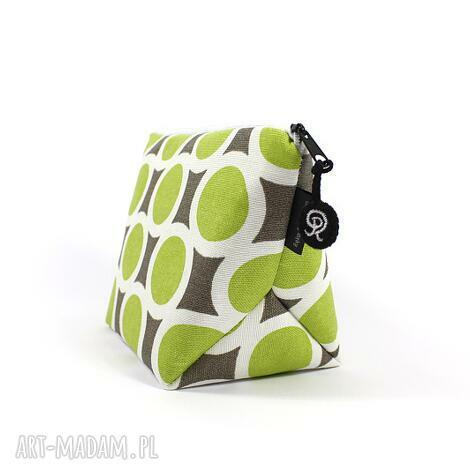 rekaproduction kosmetyczka green kółka, prezent, podróż, przechowywanie, kobieta