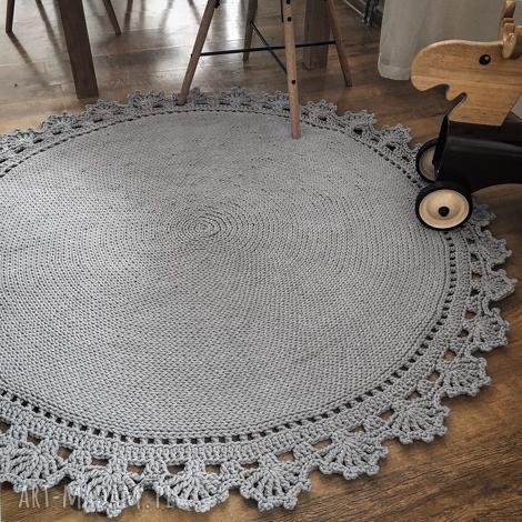 dziergany ręcznie dywan bawełniany, dywan, dywanik, bawełniany