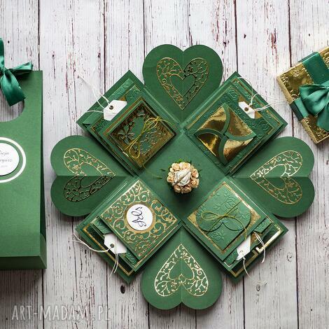 exploding box warstwowy na każdą okazję - personalizacja, prezent, ślubny
