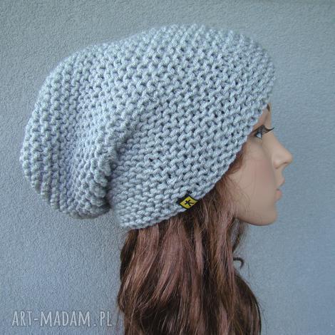 czapka - różne kolory (czapeczka uniwersalna, zimowa, ręcznie, prezent)