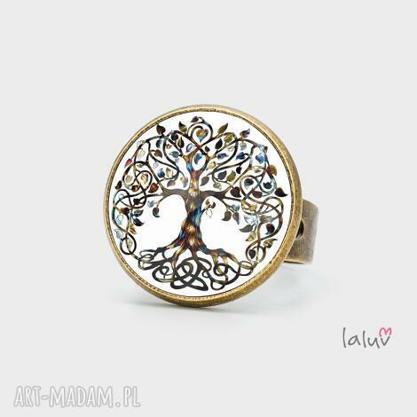 pierścionek drzewo życia, pierścionek, drzewo, życie, symbol, krąg, prezent