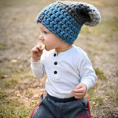 czapka triquensik 18 - czapka, czapa, kolorowa, zima, ciepła, dziecko