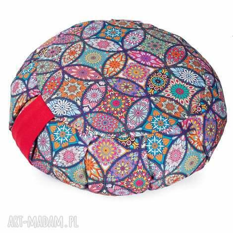 poduszka do medytacji zafu tworky - z gryką / wodoodporna, joga, pufa