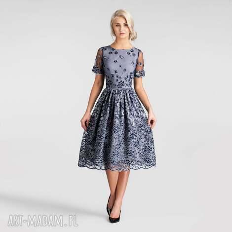f9c332da64 Sukienki niebieski handmade. Sukienka niebieska