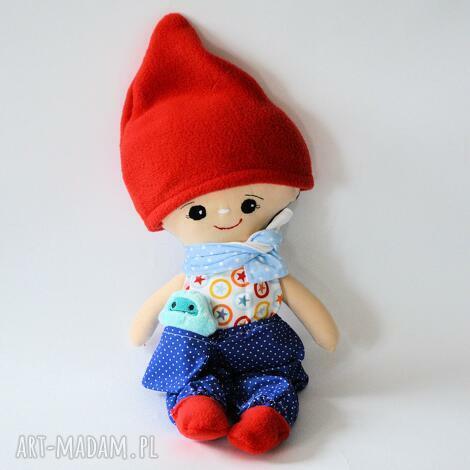 zestaw lalka leszek, ubranka i małe yeti, lalka, krasnal, zestaw, przyjaciel