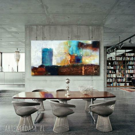 nowoczesne obrazy abstrakcyjne do salonu 80x170cm, obrazy do salonu, nowoczesne