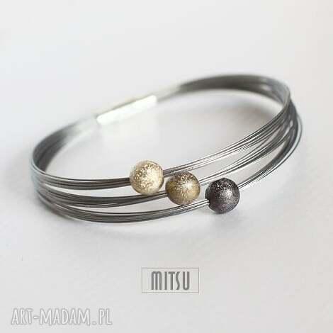 bransoletki industrial gold, industrial, minimalizm, proste, klasyczne, eleganckie
