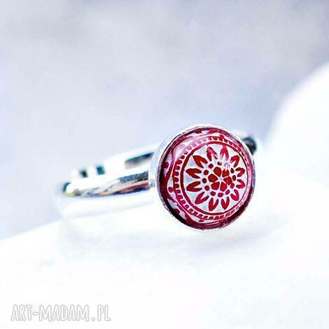 silvella mały srebrny pierścionek regulowany, srebrny, srebro, drobny, skromny