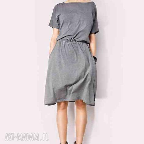 sukienka z kieszeniami, sukienka, midi, potpourri