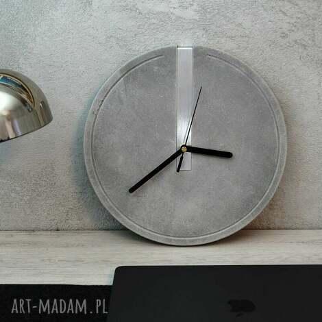 ingray nowoczesny zegar ścienny w stylu loftowym, minimalistyczny, eco