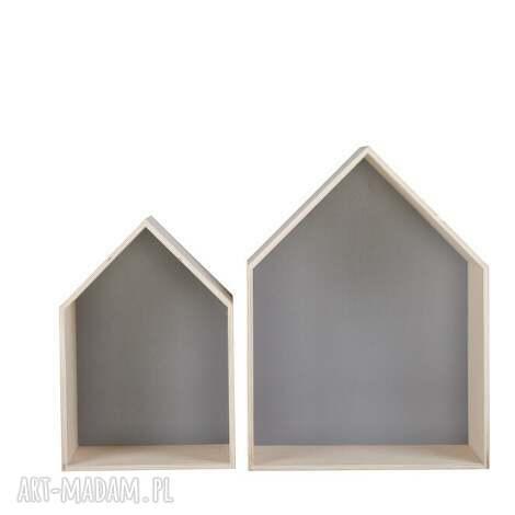 pudełka pudła grota domek l-xl, loft, scandi, new-nordic, bauhaus, sklejka dom