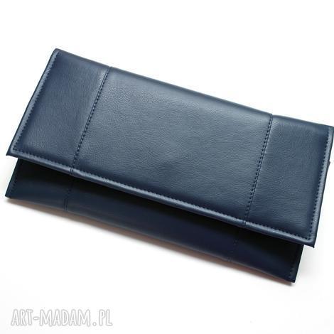 9f060d215b208 Kopertówki niebieski handmade. Kopertówka niebieska