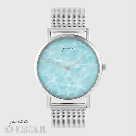 zegarki zegarek, bransoletka - ocean metalowy, bransoletka, metalowy