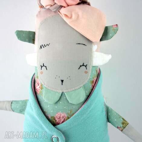 lubawa lalka przytulanka hand made - oryginalna, prezent, przytulanka, miękka