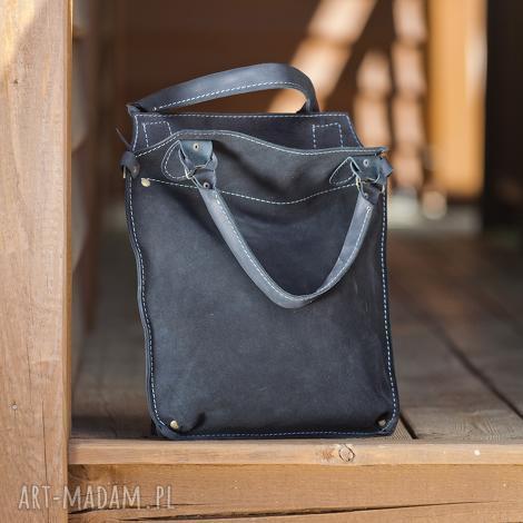 torebka skórzana ręcznie robiona navahoclothing, torba skórzana, na ramię, do