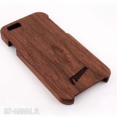 etui drewniane do iphone 6/6s orzech, telefon, iphone, case, obudowa, cover