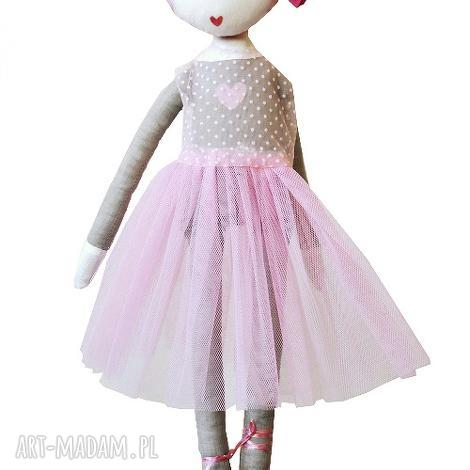 ana, która lubi tańczyć lalka z sercem - baletnica, balet, tutu, balerina