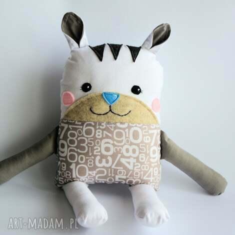 kotek tulikotek - wiktor 40 cm, kot, kotek, chłopczyk, chrzciny, roczek, maskotka
