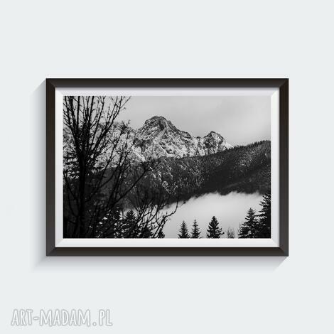 giewont ii - autorska fotografia barwna 30x45, góry, autorska, tatry, widok