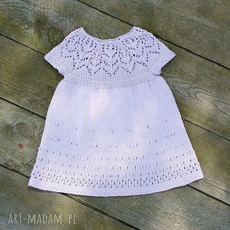 sukieneczka lily, sukienka, dziewczynka, dziecko, niemowlę, prezent, bawełna